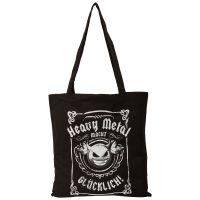 Beutel/Stofftasche - Heavy Metal Macht Glücklich - schwarz