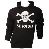 FC St. Pauli - Pulli mit Totenkopf - schwarz