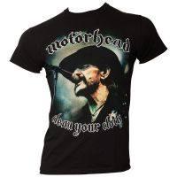 Motörhead - T-Shirt Clean Your Clock - Lemmy - schwarz