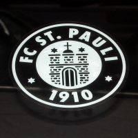 FC St. Pauli - Heckscheibenaufkleber Logo - transparent