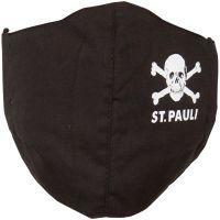 FC St. Pauli - Mundbedeckung Totenkopf - schwarz