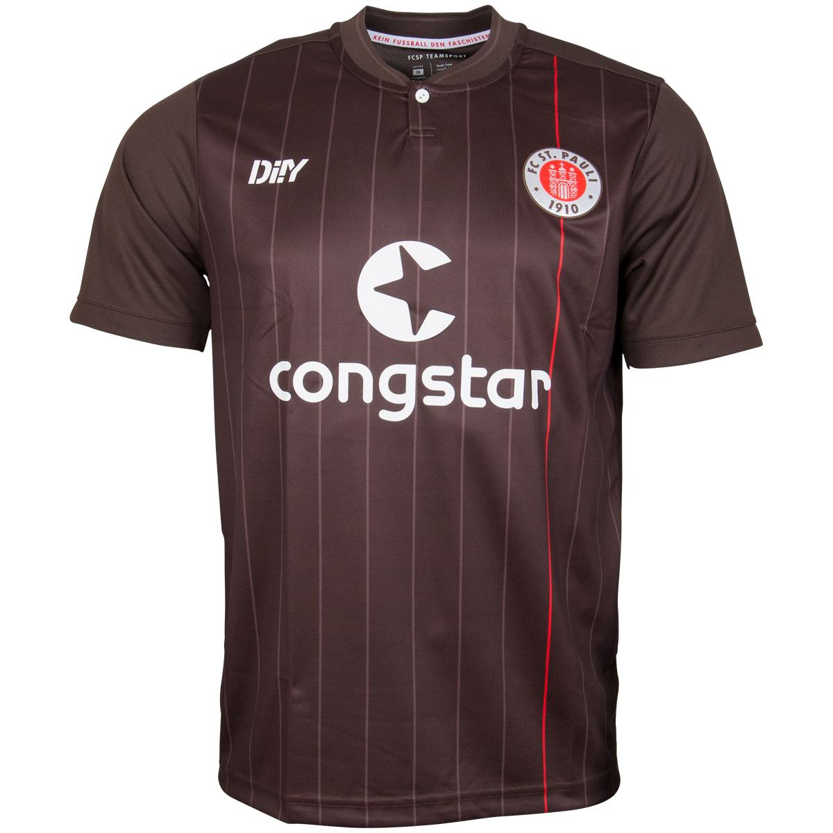FC St. Pauli - Trikot Heim 2021-22 - braun