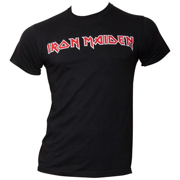 Iron Maiden - T-Shirt Logo - schwarz