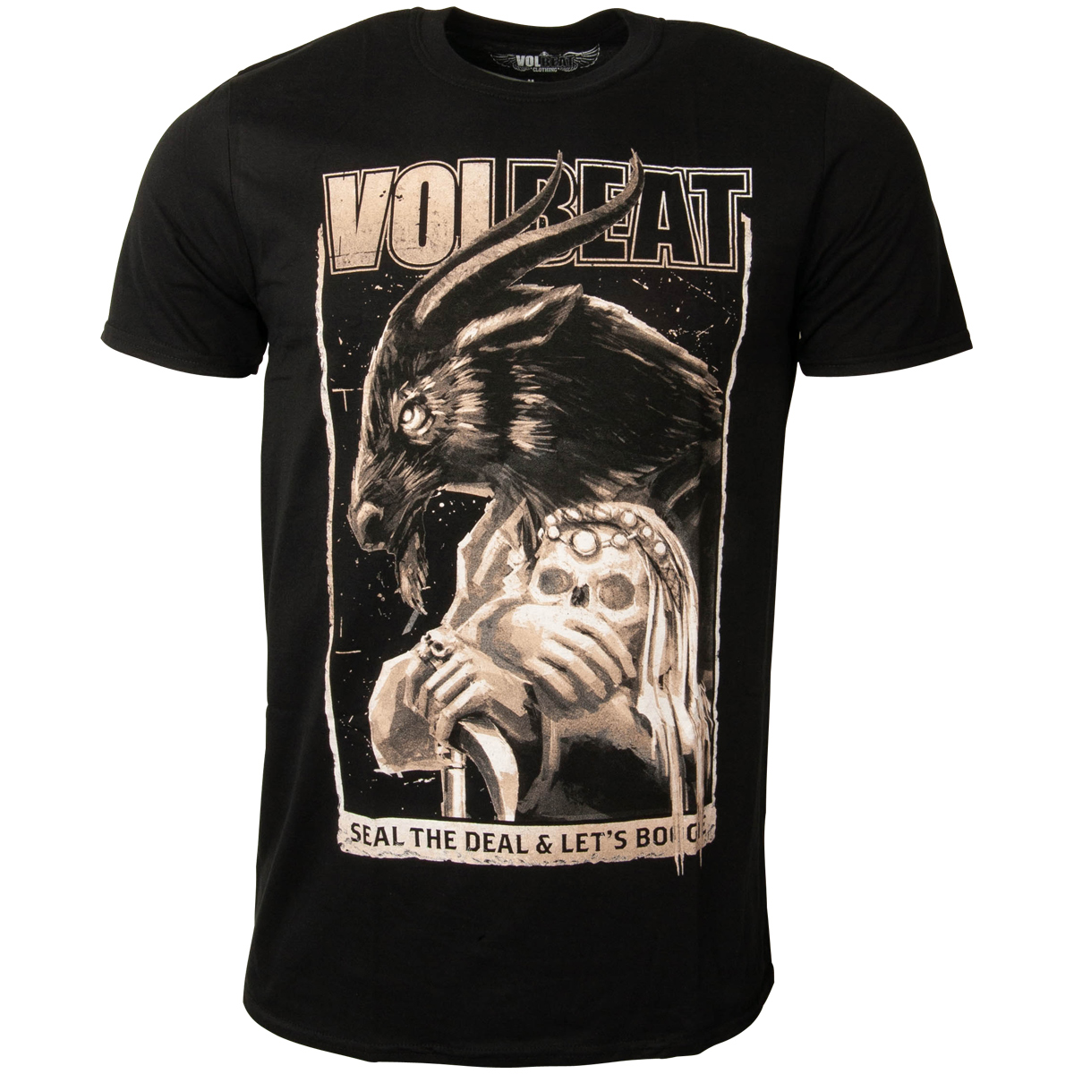 Volbeat - T-Shirt Boogie Goat - schwarz