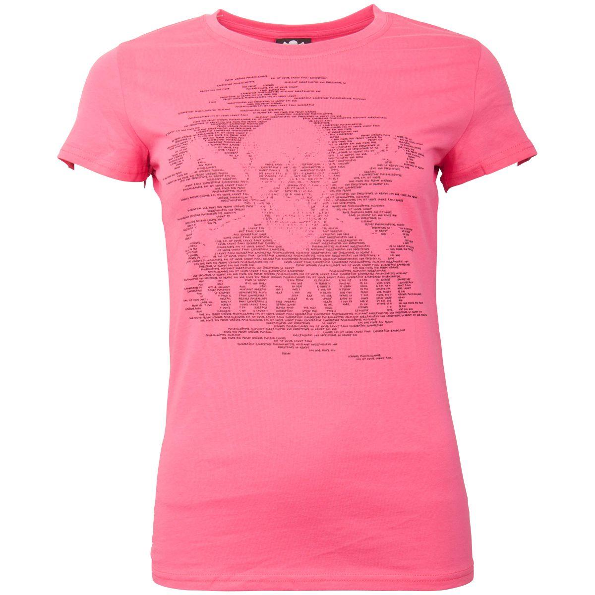 FC St. Pauli - Damen T-Shirt TK Freude Pink-Schwarz