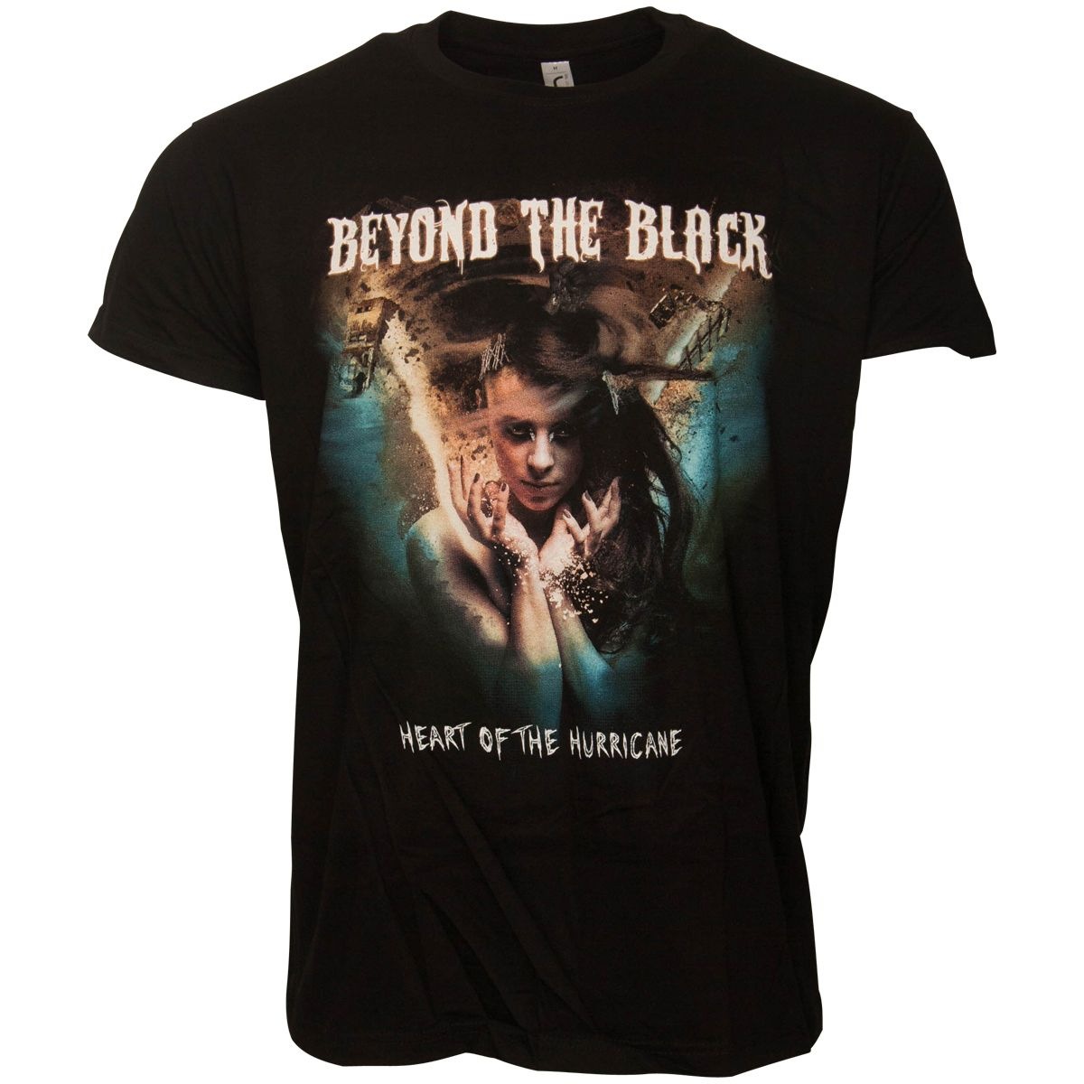 Beyond The Black - Tour Shirt Heart Of The Hurricane - schwarz