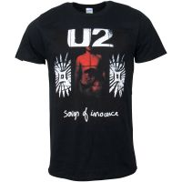 U2 - T-Shirt Songs Of Innocence Red Shade - schwarz