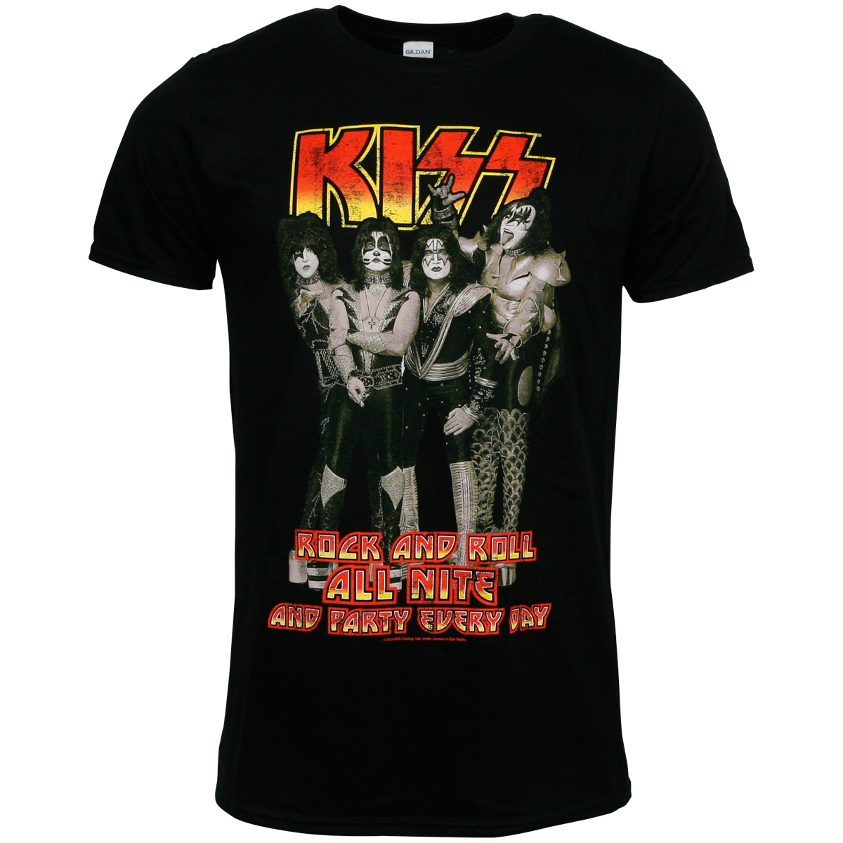 Kiss - T-Shirt Rock N Roll All Nite - schwarz