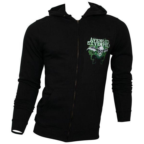 Avenged Sevenfold - Kapuzenjacke WTTF - schwarz