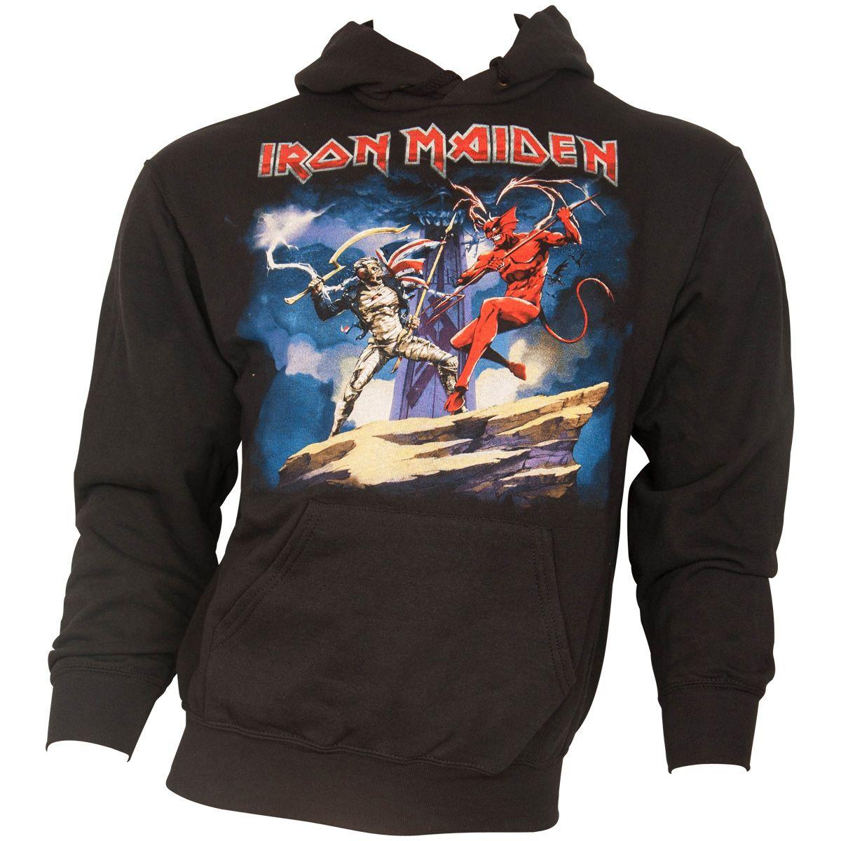 Iron Maiden - Kapuzenpullover Legacy Beast Fight - schwarz