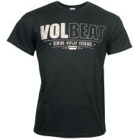 Volbeat - T-shirt Distressed Logo - schwarz