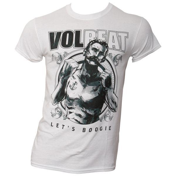 Volbeat - T-Shirt Lets Boogie - weiß