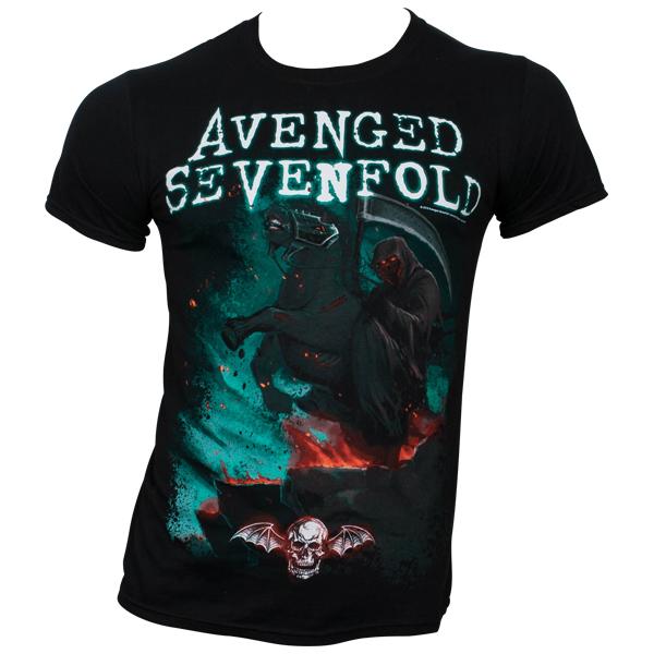 Avenged Sevenfold - T-Shirt Death Horse - schwarz