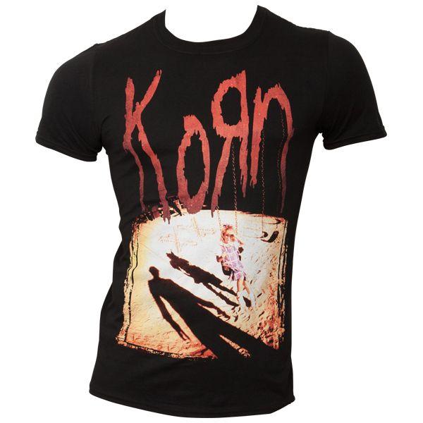 Korn - T-Shirt Korn - schwarz