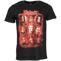 Slipknot - T-Shirt Rusty Face - schwarz