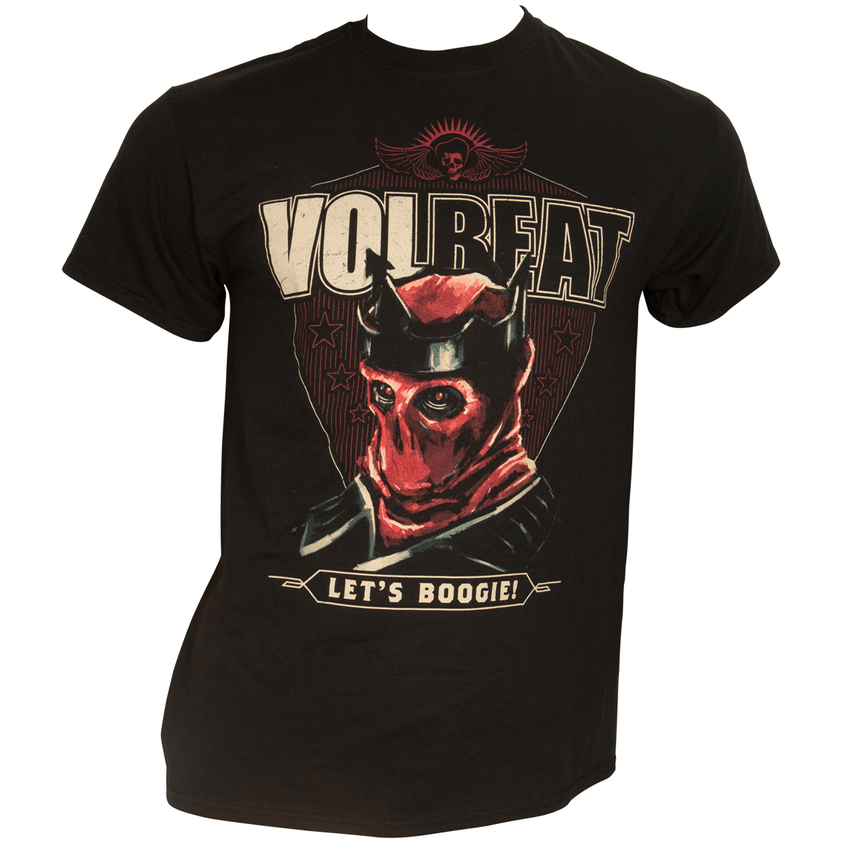 Volbeat T-Shirt The King Schwarz