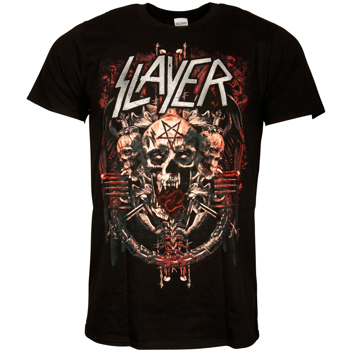 Slayer - T-Shirt Demonic Admat - schwarz