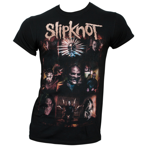 Slipknot - T-Shirt The Gray Chapter Portraits - schwarz