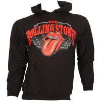 The Rolling Stones - Kapuzenpullover Stripper Tongue - schwarz