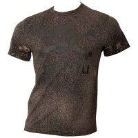 FC St. Pauli - T-Shirt Spray - schwarz/beige