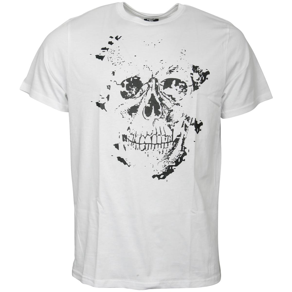 FC St. Pauli - T-Shirt Skully - weiß