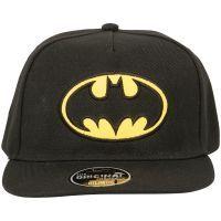 Batman - Snapback Cap Logo - schwarz