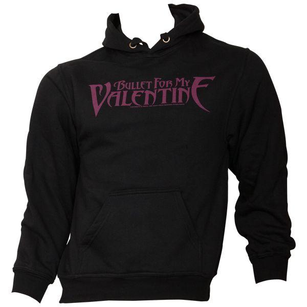 Bullet For My Valentine - Kapuzenpullover Logo - schwarz