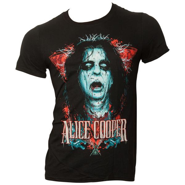 Alice Cooper - T-Shirt Decap - schwarz