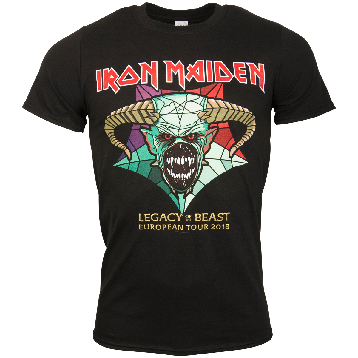 Iron Maiden - T-Shirt Legacy Of The Beast Tour 2018 - schwarz