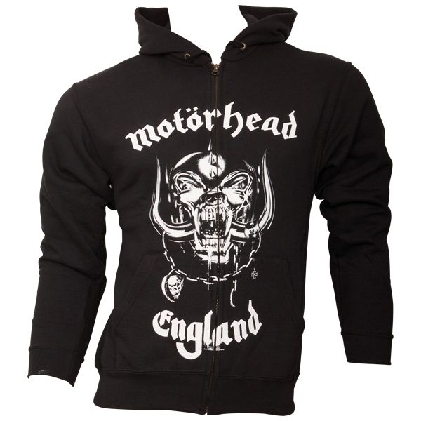 Motörhead - Kapuzenjacke Everything Louder Than - schwarz