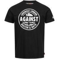 Lonsdale - T-Shirt Against Racism GOTS - schwarz