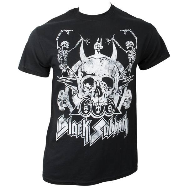 Black Sabbath - T-Shirt Dancing Skeletons Vintage - schwarz