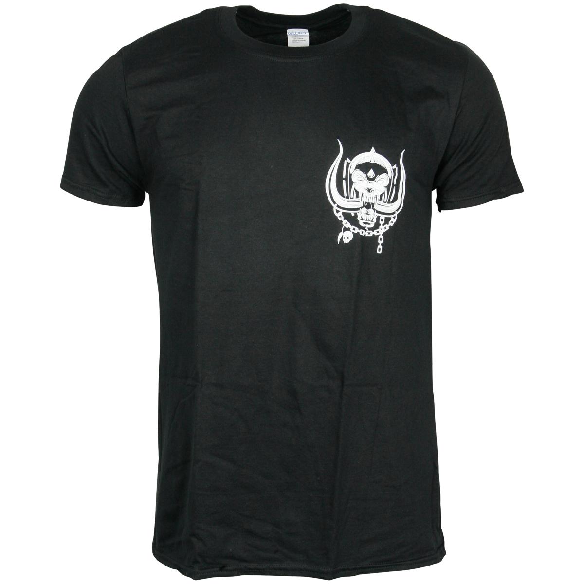 Motörhead - T-Shirt British Warpig & Logo - schwarz