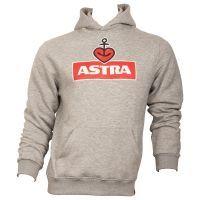 Astra - Kapuzenpullover Logo - unisex - grau