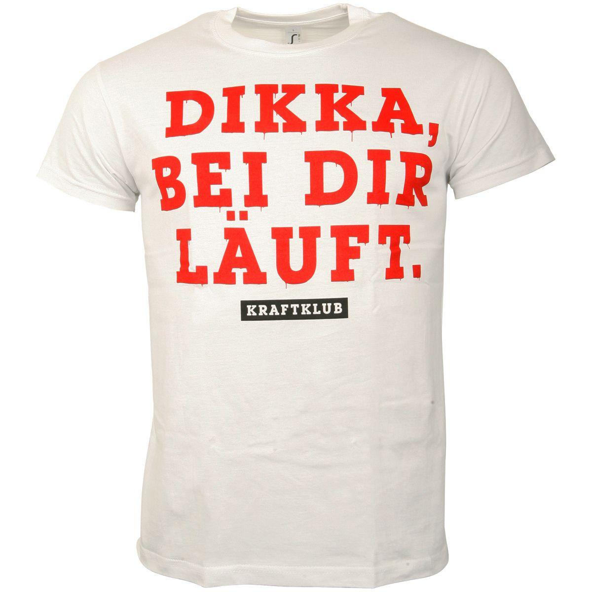 Kraftklub - T-Shirt Dikka - weiß