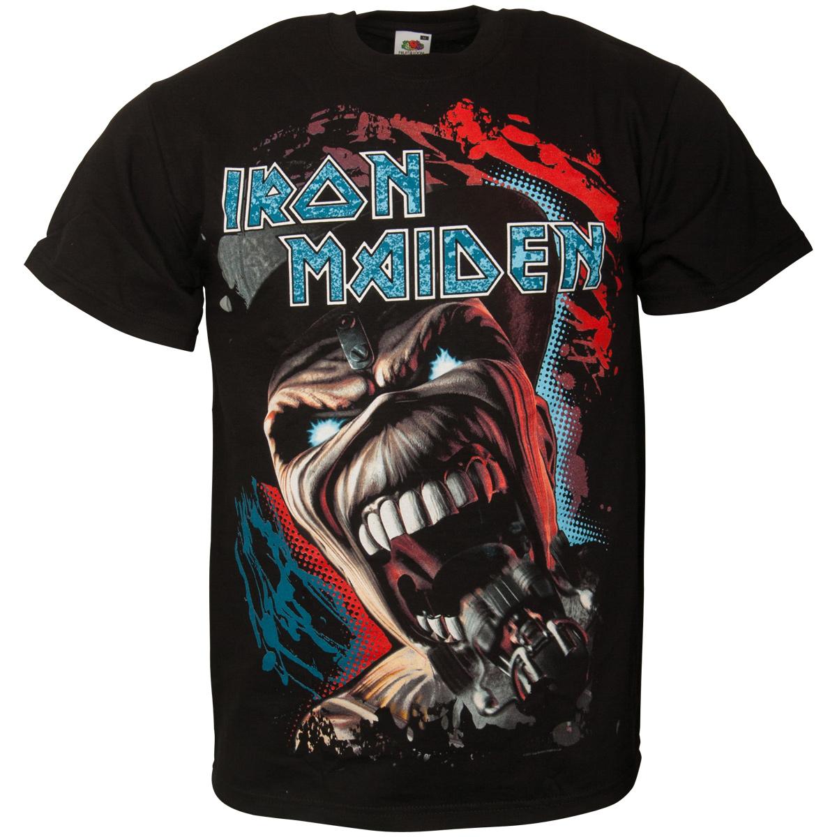 Iron Maiden - T-Shirt Wildest Dream Vortex - schwarz