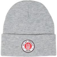 FC St. Pauli - Mütze Club mit Logo - grau