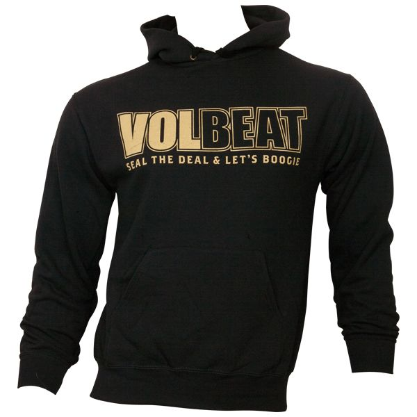 Volbeat - Kapuzenpullover Seal The Deal & Lets Boogie - schwarz