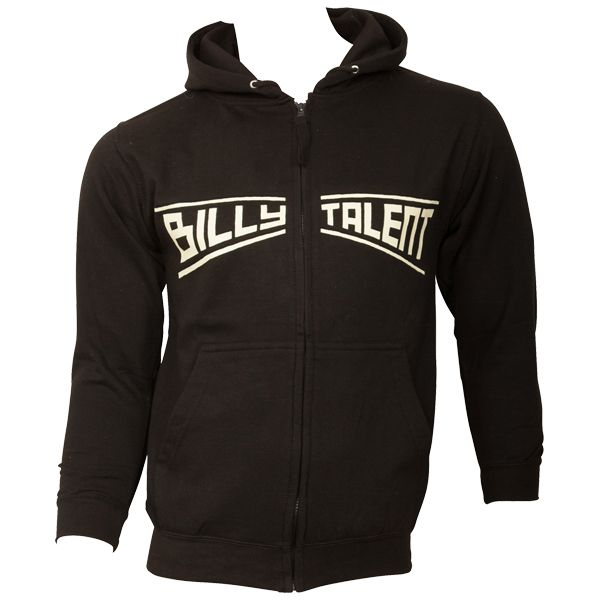 Billy Talent - Kapuzenjacke Louder Than the DJ - schwarz