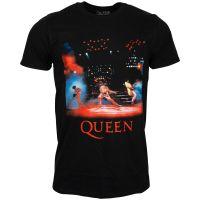 Queen - T-Shirt Live Shot Spotlight - schwarz