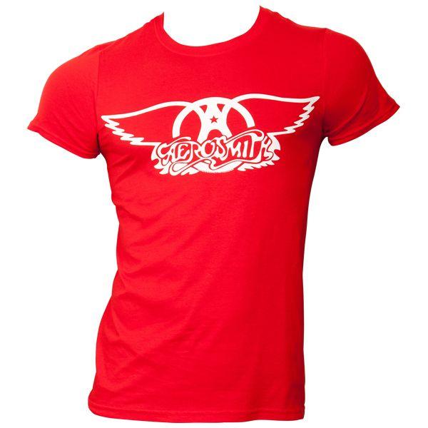 Aerosmith - T-Shirt Logo - rot