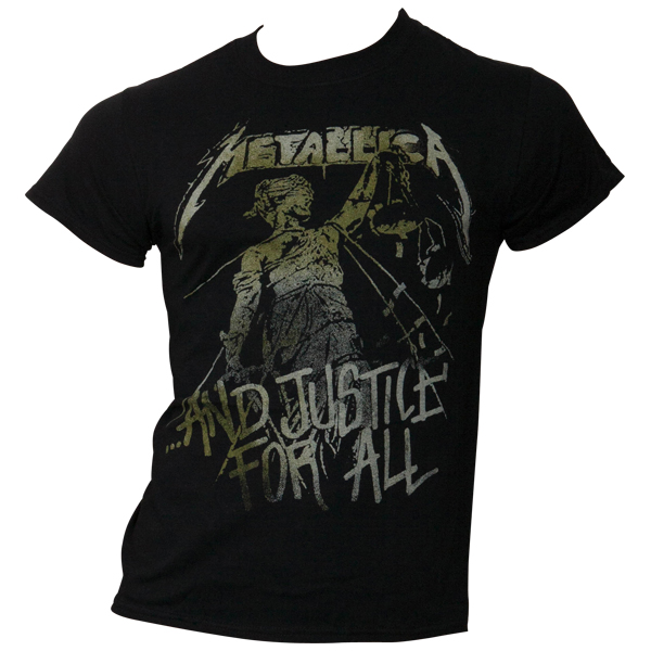 Metallica - T- Shirt Vintage Justice - schwarz