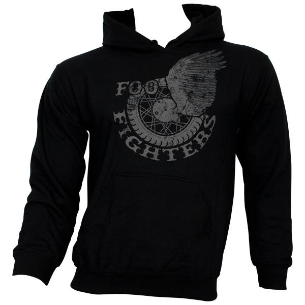 Foo Fighters - Kapuzenpullover Wings - schwarz