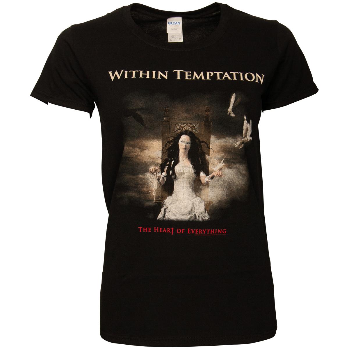 Within Temptation - Damen T-Shirt Heart Of Everything - schwarz