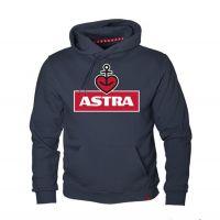 Astra - Kapuzenpullover Logo Navy - unisex - blau