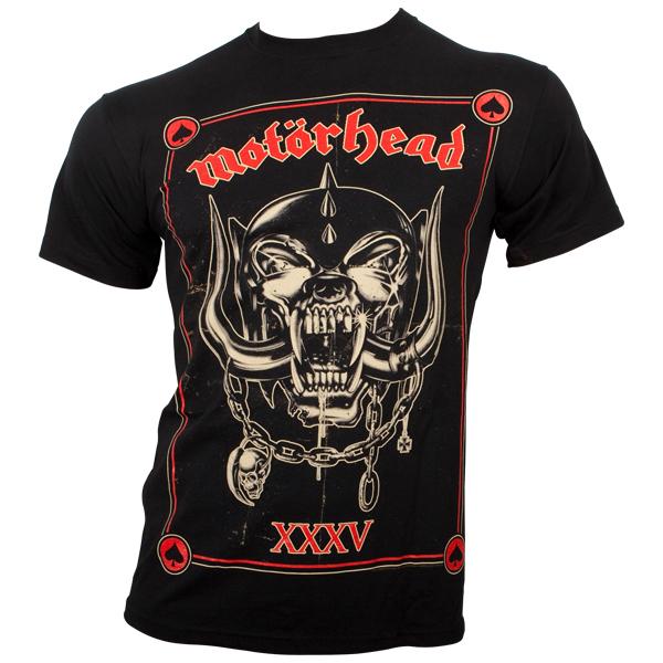 Motörhead - T-Shirt Anniversary - schwarz