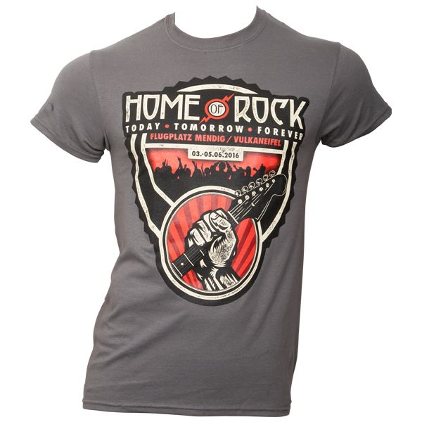 Offizielles Rock am Ring T-Shirt 2016 - grau