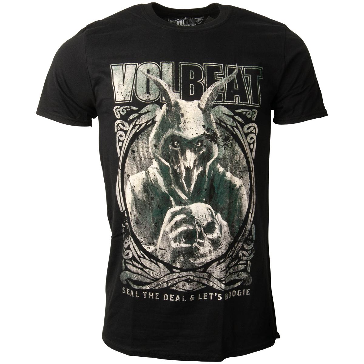 Volbeat - T-Shirt Goat With Skull - schwarz