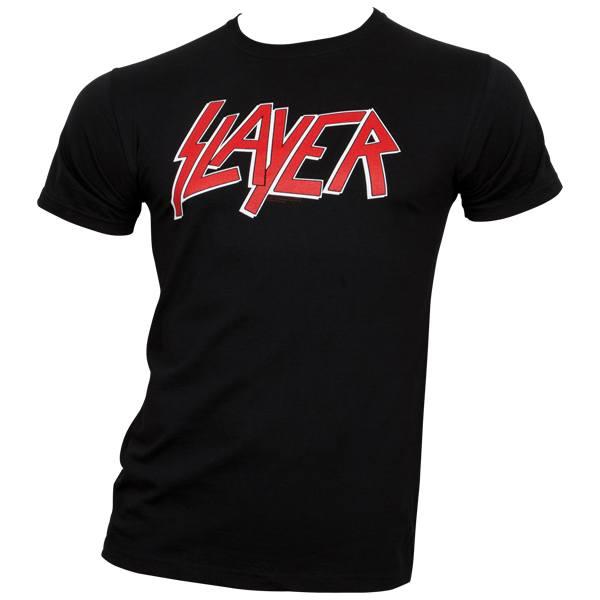 Slayer - T-Shirt Classic Logo - schwarz