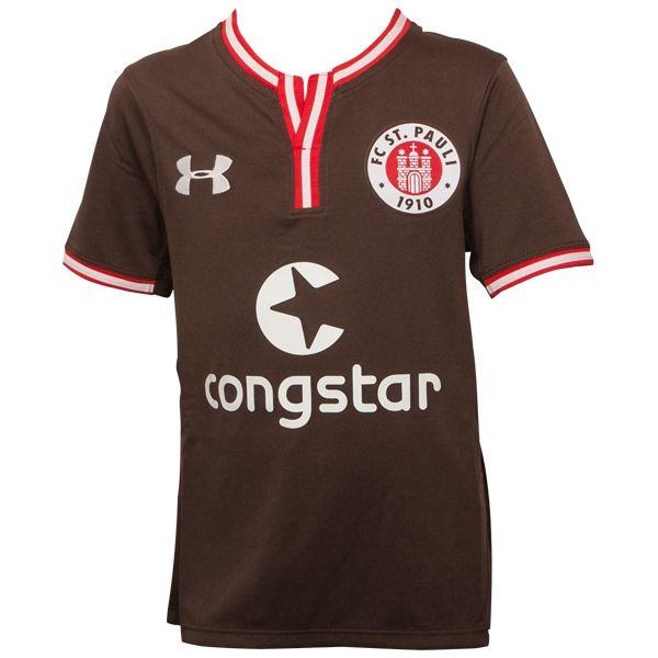 FC St. Pauli - Kinder Trikot Heim 2016-17 - braun